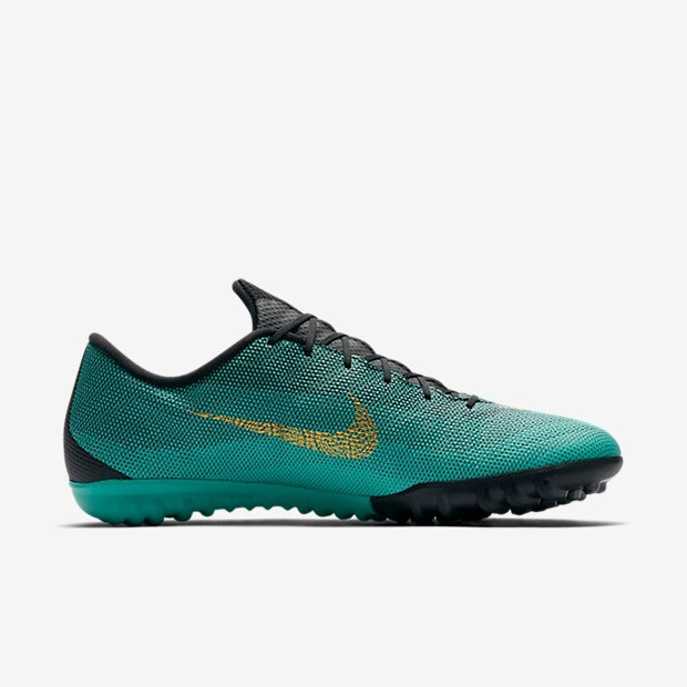 Chuteira Society Nike Mercurial Vaporx 12 Academy Cr7 Tf - R  419 4996f88dcf991