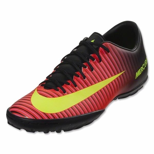 Chuteira Society Nike Mercurial Victory Carmin 33f97b42be922