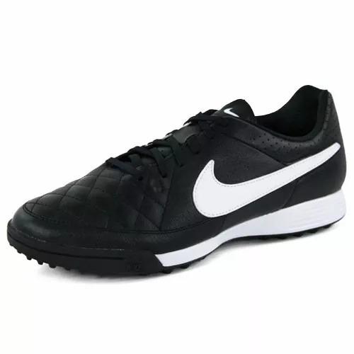 00edab711b28c Chuteira Society Nike Tiempo Genio Couro Tf Tam.40,5 1magnus - R ...