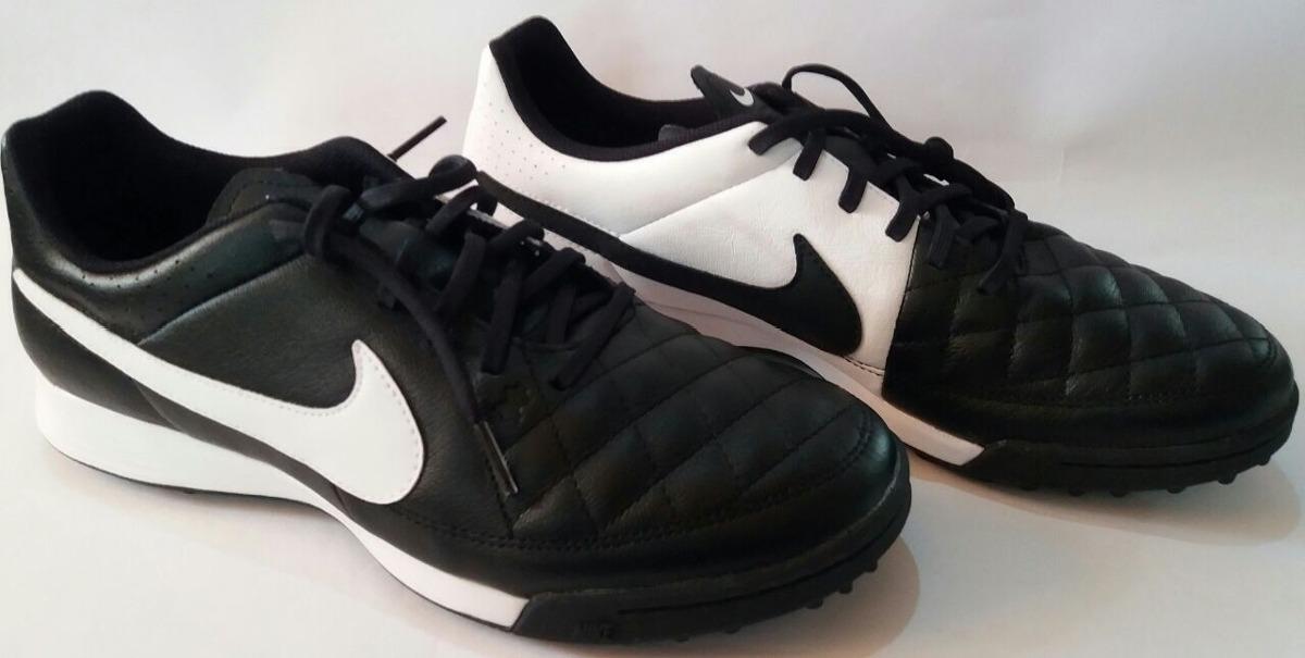 c385eb256c Chuteira Society Nike Tiempo Gênio Leather Tf - R$ 239,90 em Mercado ...