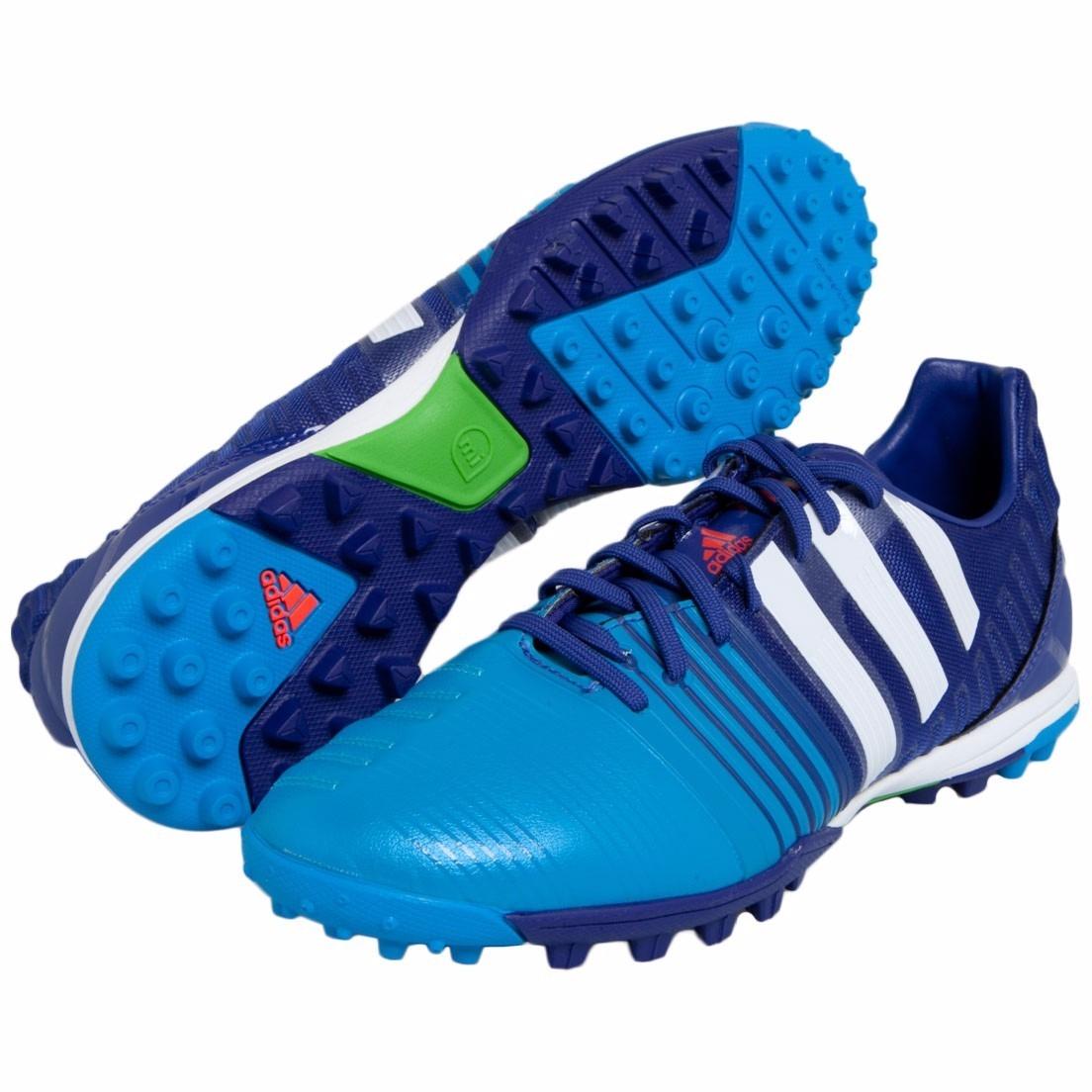 chuteira society tf adidas nitrocharge 2.0 azul tam 41 nova. Carregando  zoom. 12b9d32455bd5
