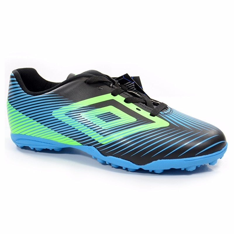 2665ab8556 chuteira society umbro speed ii adulto 736417 pto azul vrd l. Carregando  zoom.
