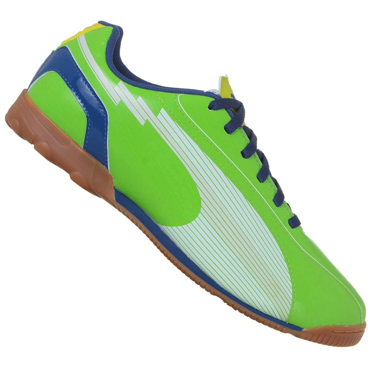 14dd9451ab Chuteira Tênis De Futsal Puma Evospeed 5 Ic Original +nf - R  120