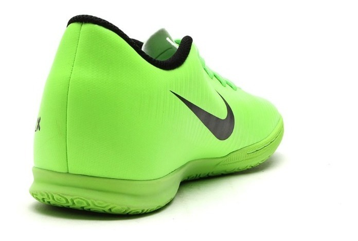 purchase cheap 0cc69 d405e Chuteira Tênis Nike Futsal Mercurialx Vortex Iii Ic 9201 Verde/preto