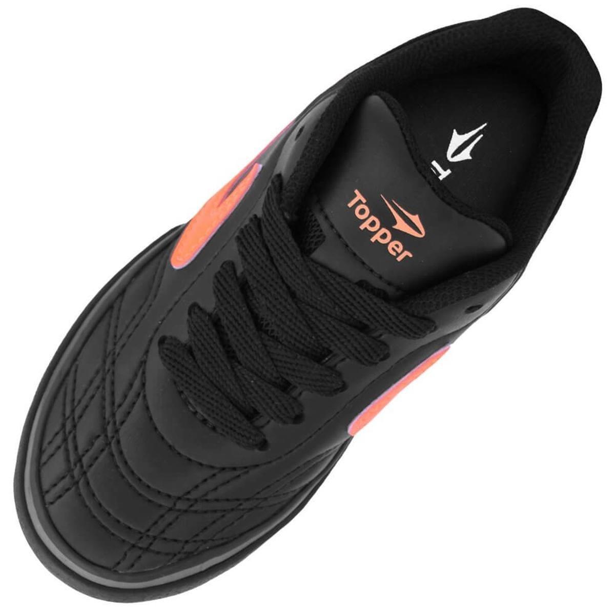 f0acaeb96a68e Chuteira Topper Dominator Futsal Jr. Infantil. - 02897 - R  120