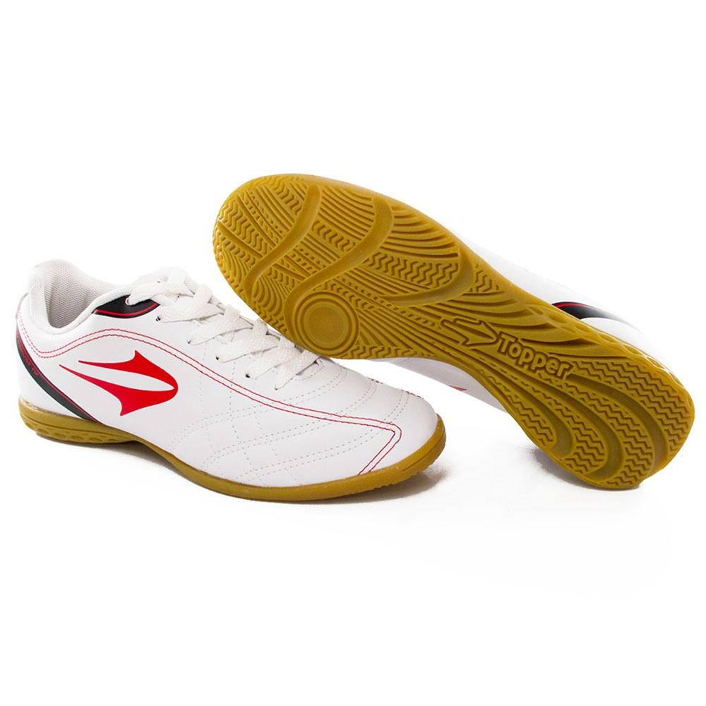 ac7ba487d2e07 chuteira topper futsal indoor titanium iv - way tenis. Carregando zoom.