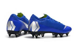81fbc02905 Chuteira Nike Mercurial Azul Com Travas Tamanho 37 Original ...