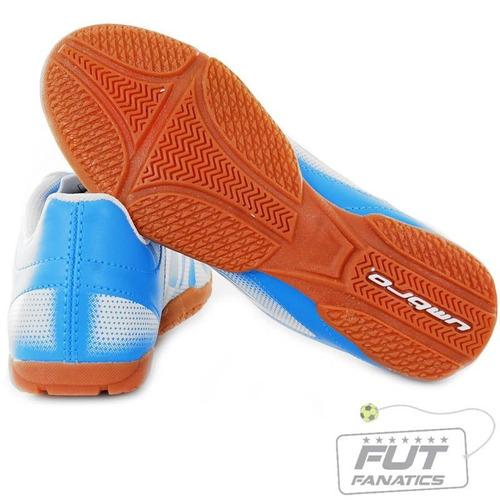 Chuteira Umbro Striker In Futsal Juvenil Azul - Futfanatics - R  49 ... ec795f6f662bb