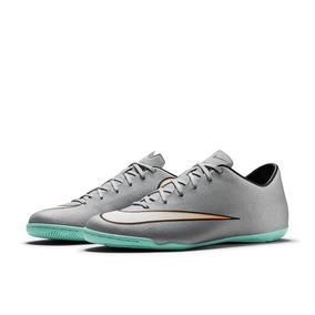 1460e8290cab8 Chuteira Nike Futsal Cristiano Ronaldo Cr7 Infantil Azul - Chuteiras ...