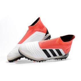 3a9f2f2f6b Chuteira Adidas Predator 18 Society Adultos - Chuteiras no Mercado ...