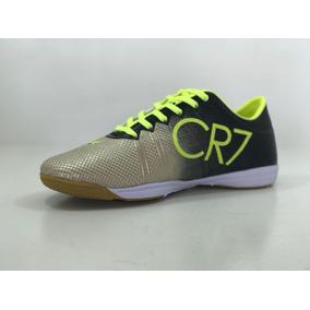 d8c2abd11d Chuteira Futsal Infantil Cr7 Dourada - Chuteiras para Futsal no ...