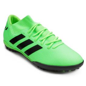1e878b9221c Chuteira Society Adidas Infantil Messi - Chuteiras Verde claro no ...