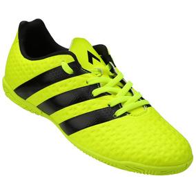 ac9e94b2ae5ce Chuteira Adidas Ace 16.3 Futsal Verde - Chuteiras no Mercado Livre ...