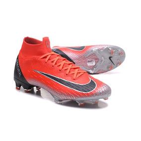a8f9f604e080a Mercurial Superfly Iv Dourada Vermelha Nike - Chuteiras Nike de ...
