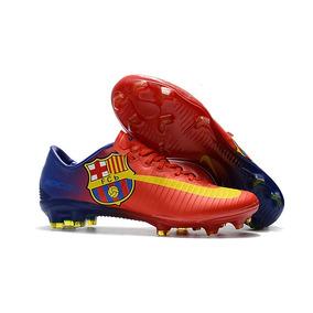 53b790b3e1933 Chuteira Barcelona Infantil - Futebol no Mercado Livre Brasil