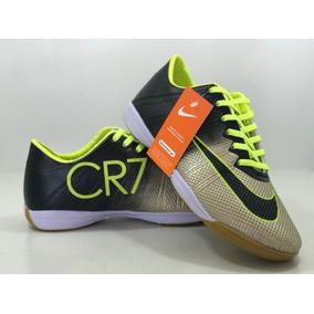 8c550220b3 Chuteira Futsal Mercurial Superfly Cr7 - Chuteiras Dourado escuro no ...