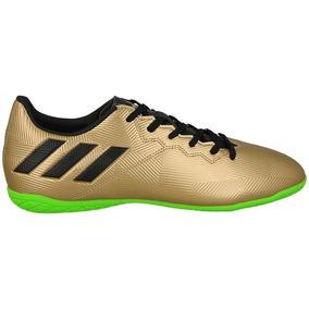 98152a72841b6 Chuteira Futsal Messi Dourada - Chuteiras no Mercado Livre Brasil