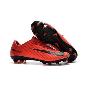 f6a79423224d9 Chuteira Nike Mercurial Vapor Vermelha - Futebol no Mercado Livre Brasil