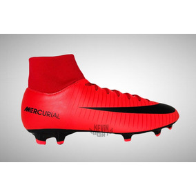 b47e1f56ad1f8 Chuteira Nike Vermelha Original Botinha - Esportes e Fitness no Mercado  Livre Brasil