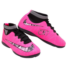 fbd9a29f626e3 Chuteira Nike Mercurial Futsal Parana - Chuteiras Rosa chiclete no ...