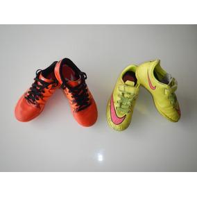 b1b2914e2ad11 Chuteira Infantil Usada - Esportes e Fitness