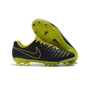 acf86424c1 Verde Limão Nike Tiempo Legend 4 Fg Branca Dourada - Chuteiras para ...