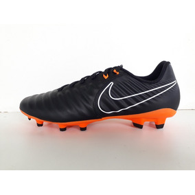 63f2ba8a64 Chuteira Nike Tiempo Legend Iv Fg Preto branco Adultos Campo ...