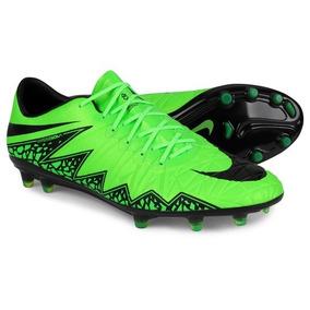 92bedeab85246 Chuteira Campo Nike Hypervenom Phinish Fg - Verde (usada 2x)