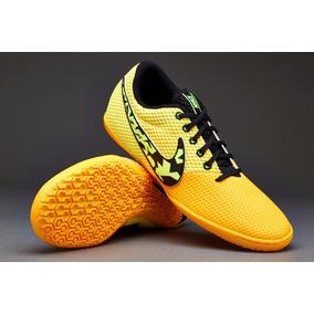 660b18452de Black Futsal Nike5 Elastico Pro Indoor Grey Orange - Chuteiras para ...