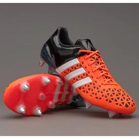 851baf8d0f833 Chuteira Adidas Ace 15.1 Pro Trava Mista Couro - Chuteiras no ...