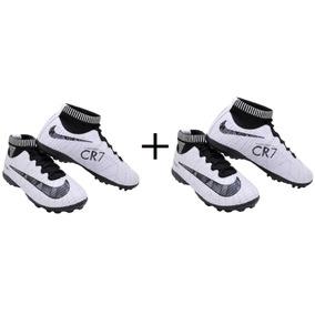 99fdb0ecbd Chuteiras Nike Mercurial Fucsia Branco Infantil - Chuteiras no ...