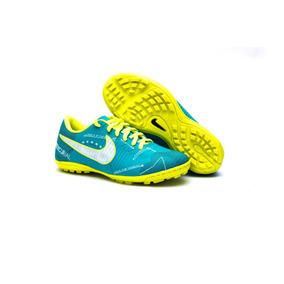 3f33cf58a4333 Chuteira Cr7 Mercurial Nike Vermelha E Dourada - Esportes e Fitness no  Mercado Livre Brasil