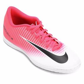 362cc12f787e1 Chuteira Nike Mercurial Futsal Infantil Rosa - Esportes e Fitness no  Mercado Livre Brasil