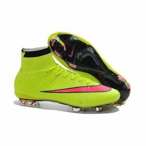 3e7d48ebecec1 Chuteira Nike Superfly V Verde Fluorescente Pronta Entrega