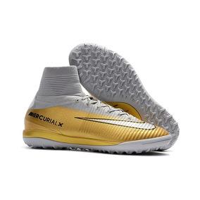 3d99c36988d9b Chuteira Nike Mercurialx Proximo Ii Cr7 Society Adultos - Chuteiras ...