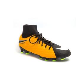 dac9a07cb86ae Chuteira Nike Hypervenom Phelon Fg Campo Preta E Vermelha ...