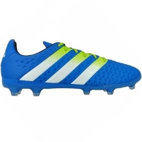 1a20032ec812e Chuteira Adidas X 16.3 Campo - Chuteiras Azul no Mercado Livre Brasil
