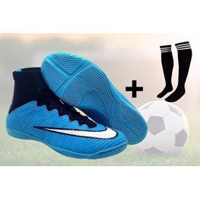 d4dfd2fc7e Chuteira Society Kelmer Promocao Infantis Futsal - Chuteiras Azul no ...