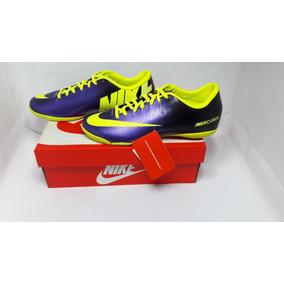 0d924a9965a91 Chuteira Nike Mercurial Azul Bebe Futsal - Chuteiras no Mercado ...