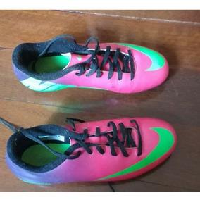 81f2795c1a61b Chuteira Nike Mercurial Tamanho 36 - Chuteiras Nike no Mercado Livre ...