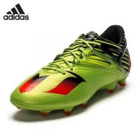 e7ec28ab1f684 Chuteira Adidas Messi Adizero Lançamento 41 Laranja Amarela ...
