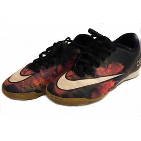14e44346761c5 Chuteira Salão Nike Mercurial Cr7 - 39