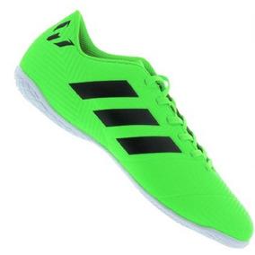 5c5ea3963c8a Chuteira Futsal Adidas Messi Infantis - Chuteiras Verde no Mercado ...
