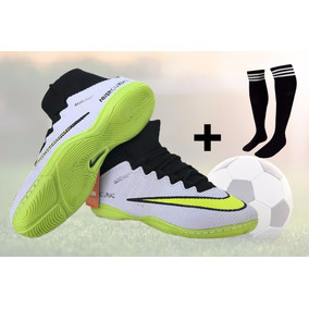 21caad24ca Chuteira Cano Alto Infantil Tamanho 36 Futsal Nike - Chuteiras ...