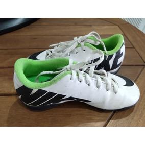 b7f2fa5b2440a Chuteira Society Nike Jr. Mercurial Vortex Tf Nº 30 - Usada