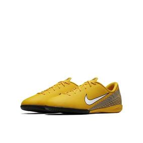 190aa697362e1 Chuteira Do Neymar Infantil Futsal Da Nike Laranja E Preto ...