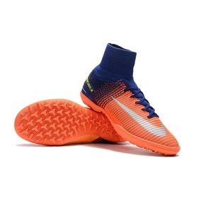 302003f6db34b Chuteira Nike Mercurial Hiyperveno Botinha Laranja Com Preto - Esportes e  Fitness no Mercado Livre Brasil