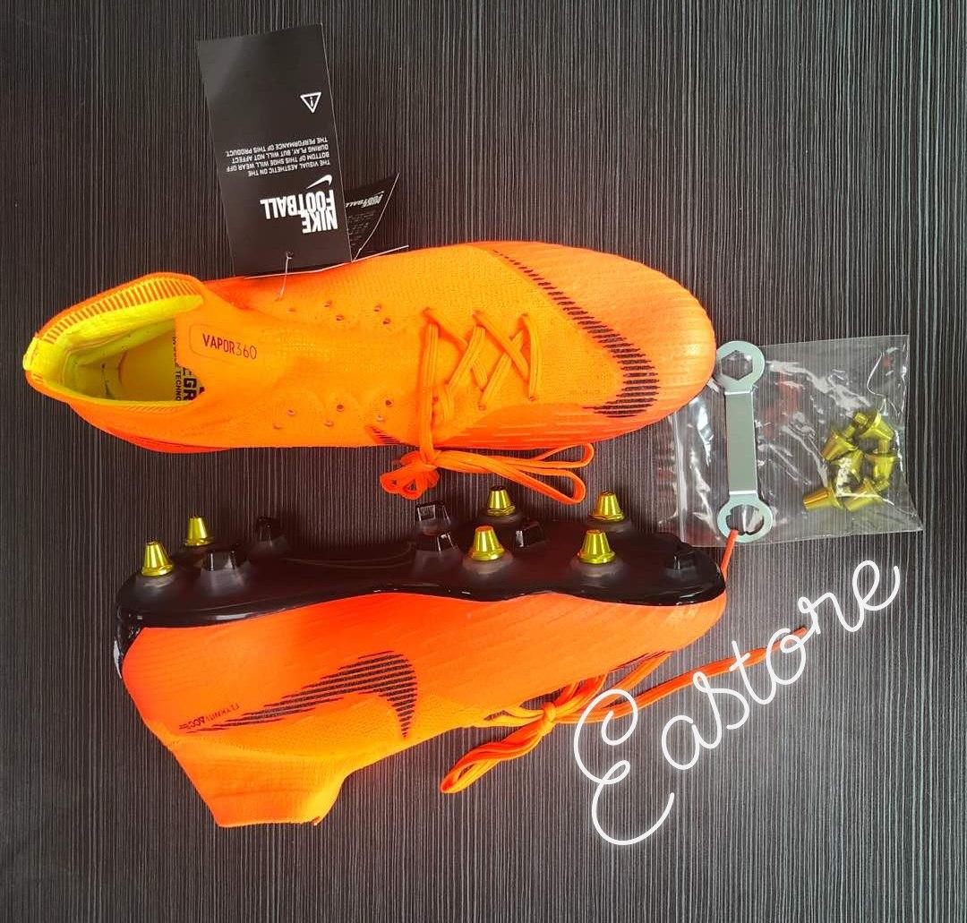 98aca6515b82a Chuteiras Nike Mercurial 360 Travas De Alumínio - R  429