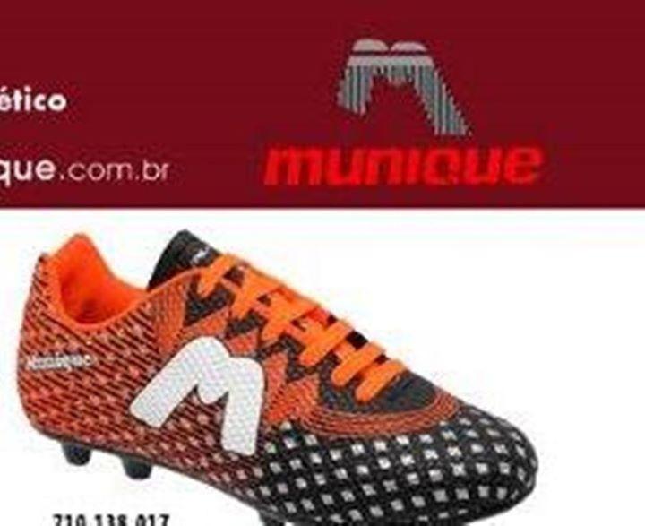 Chuteiras Society - Futsal - Chuteiras Campo - Marca munique - R  70 ... d8d41341f9515