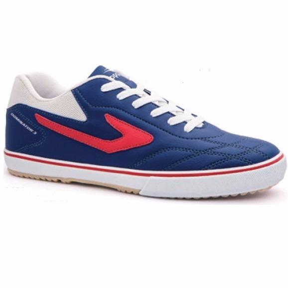 Chuteira tênis Futsal Topper Dominator Azul Edição Limitada - R  99 ... bb026e33ccbe7